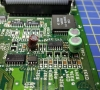 Amiga 600 REV1.1 badly Distorted Clipped Saturated audio Repair.