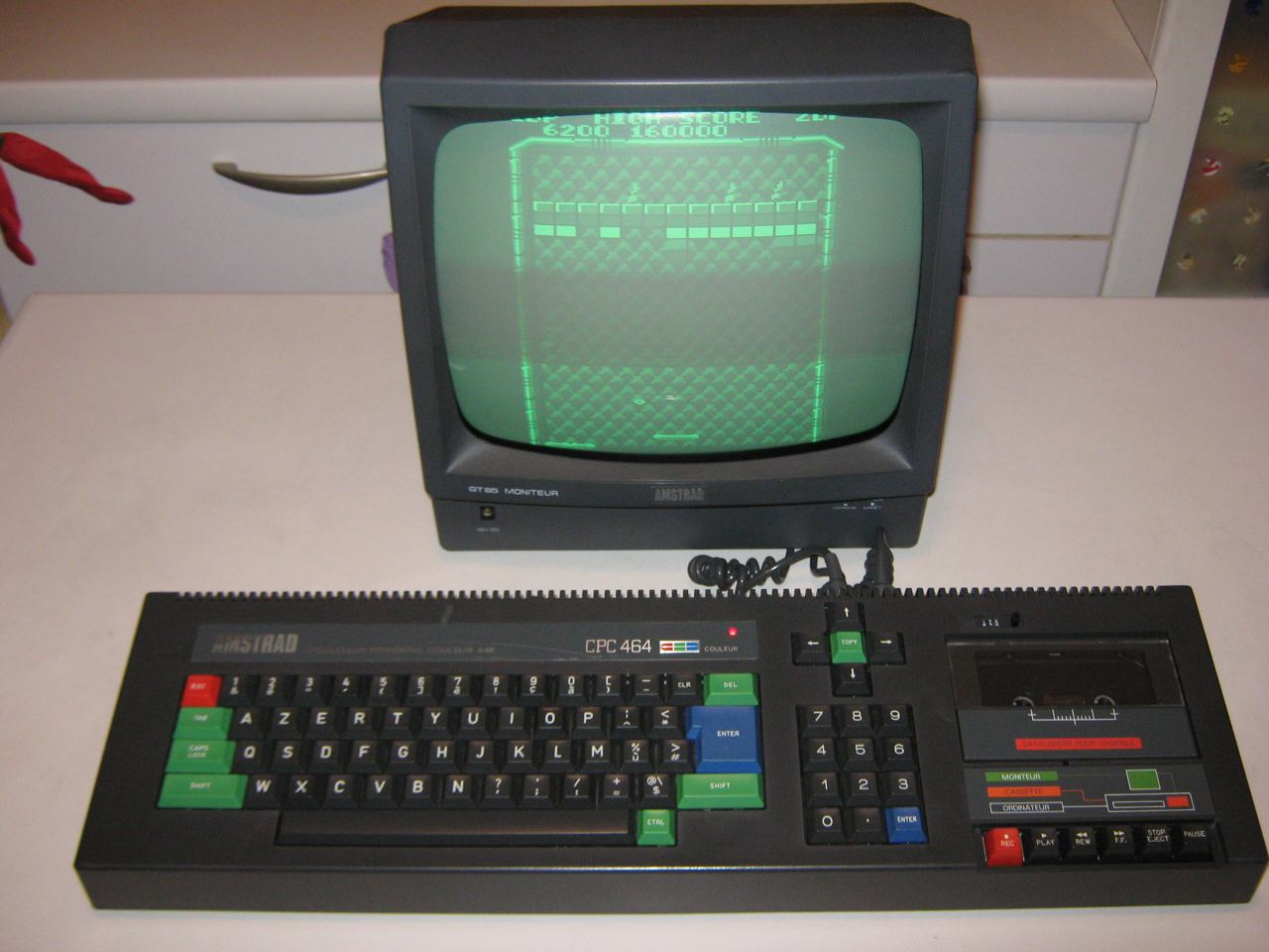 amstrad cpc 464 french monitor gt65 vari accessori nightfall blog. Black Bedroom Furniture Sets. Home Design Ideas
