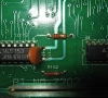 Amstrad CPC 464 Motherboard close-up