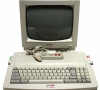 Amstrad CPC 6128 Plus / Monitor MM12 (White Phosphor CRT)
