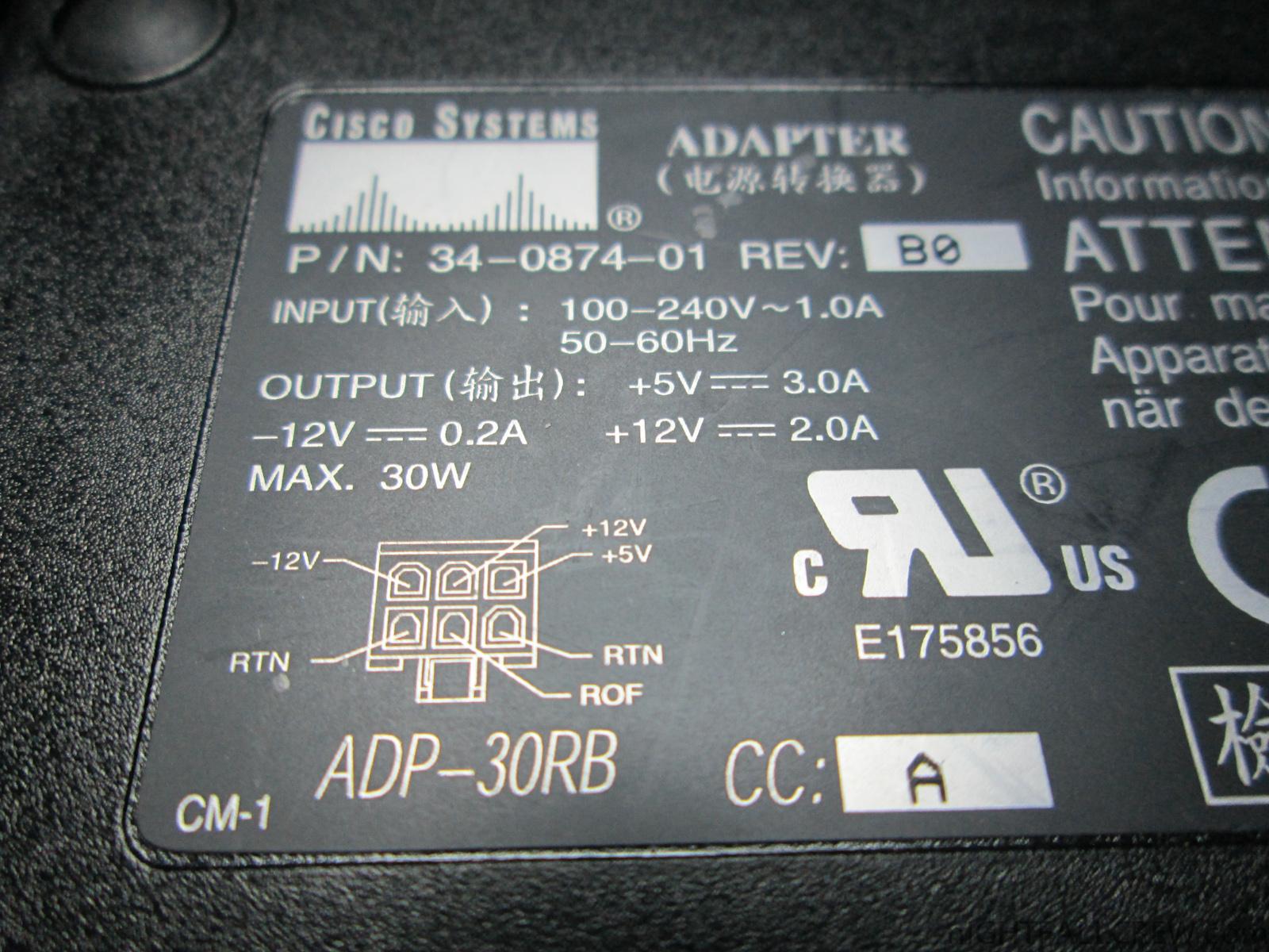Amstrad Cpc 6128 664 Power Supply Cisco 34 0874 01