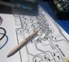 Amstrad CPC 664 Repair Keyboard Membrane