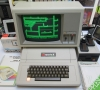 Apple ][ EuroPlus with a Apple Monitor III