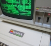 Apple ][ EuroPlus with a Apple Monitor III (close-up)