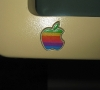Apple IIc Monitor (detail)