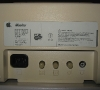 Apple IIc Monitor (rear connectors)