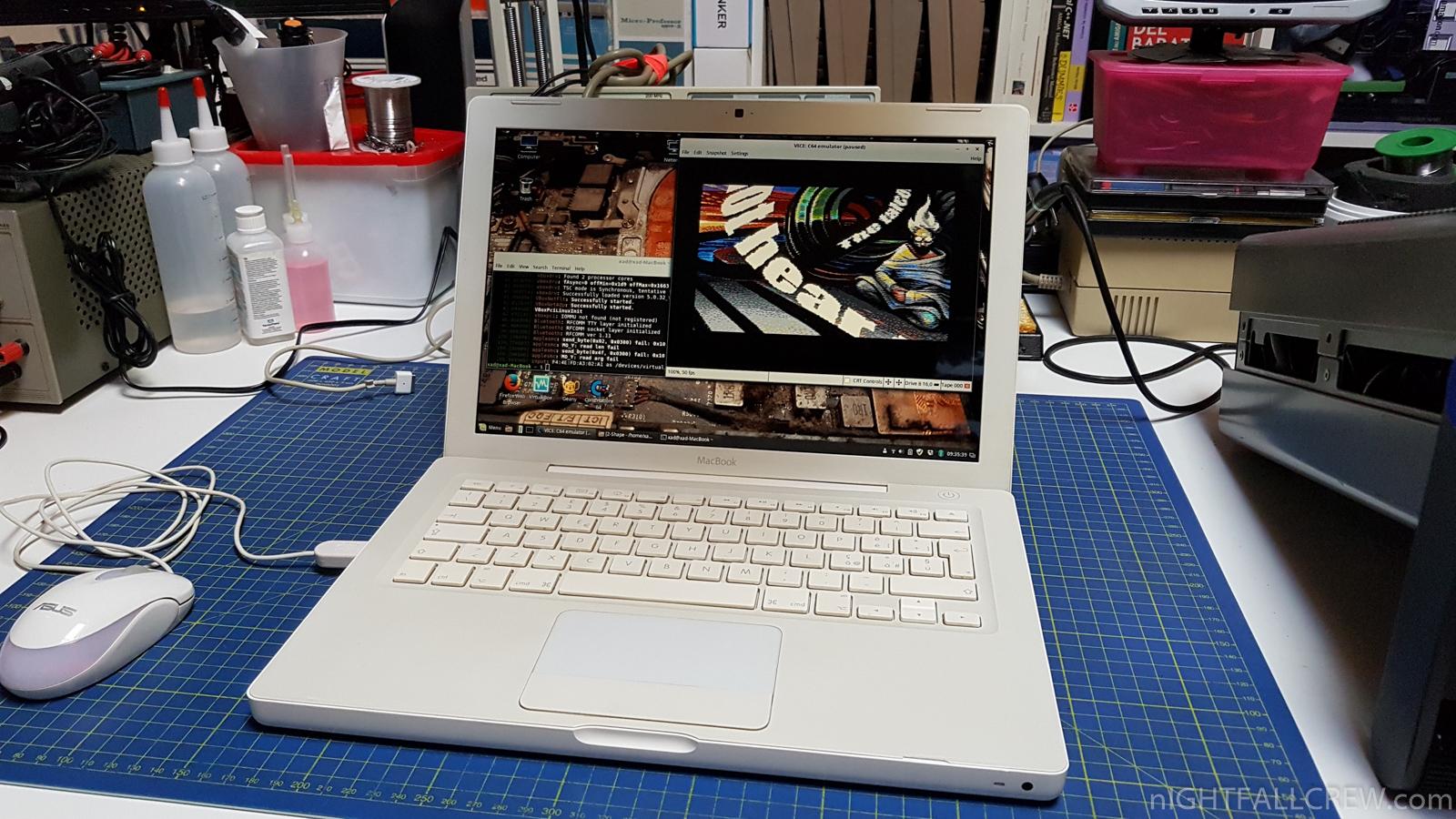 Apple MacBook – Pulizia & Sostituzione Pasta Termica / Linux
