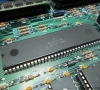 Apple Macintosh SE - Motherboard close-up