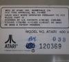 Atari 400 (bottom side close-up)