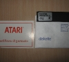 Atari Disk Drive 1050 Warranty Card / Floppy Disk