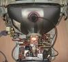 Atari Monitor SM124 (inside)