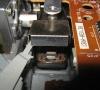 Atari SF 354 Floppy Drive (floppy drive close-up)