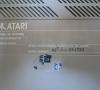Atari XE-System (bottom side close-up)