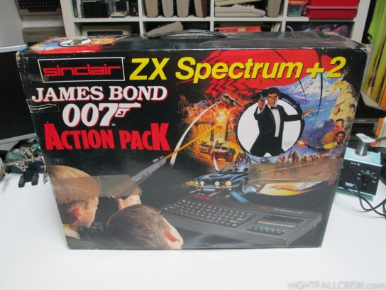 Sinclair ZX Spectrum +2 James Bond 007 Action Pack