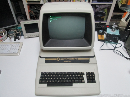Commodore 8032-SK (Gold Label)
