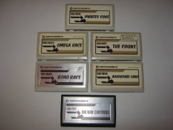 Some VIC-20 Cartridges