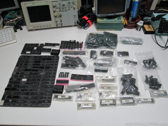 Substantial donation of integrated circuits