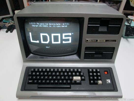 Radio Shack TRS-80 Model III (LDOS)