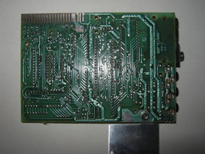 Sinclair ZX81 Motherboard