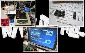Apple II Europlus / Keyboard and Floppy Disk Drive Repair