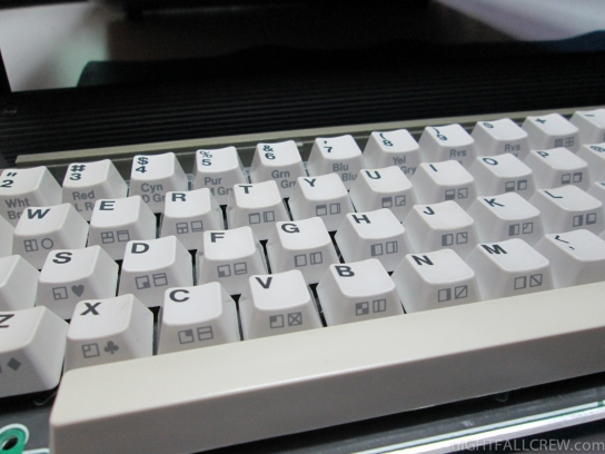 Commodore SX64 Keyboard Fixed
