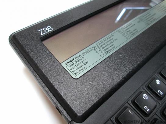 Z88 Cambridge Computer (close-up)