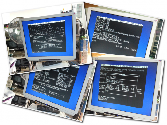 Apple IIgs ProTERM 3.1: Serial Console & Telnetting BBS