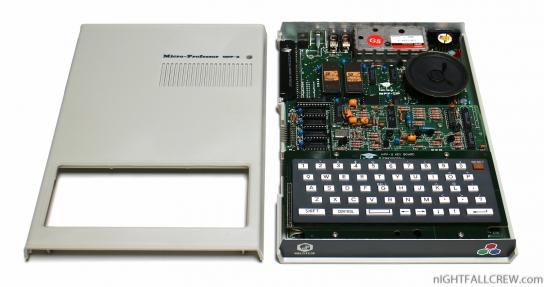 Multitech Micro-Professor MPF-II (under the cover)