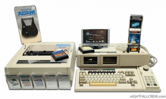 Adam Coleco Vision Family Computer System