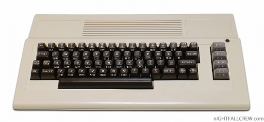 Commodore 64 Australian (Original Color - not Photoshopped)