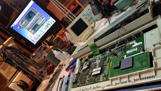 Restoring the original configuration of a ACT Elek. Apollo 1260