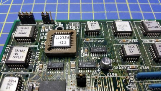 Commodore A3640 CPU Card 3.2 Upgrade