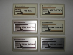Some VIC-20 Cartridges