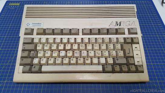Repair Commodore Amiga 600 in a very bad conditions