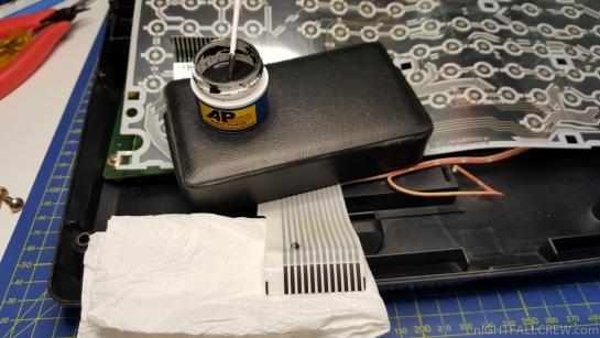MSX Keyboard Membrane Repair