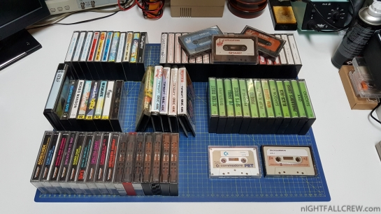 Thanks to my friend Andry for donation of some Cassette Tapes