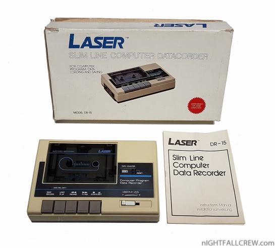 Laser Slim Line Computer DataRecorder DR-15