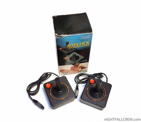 Atari Joystick CX-40-04 Retail Box