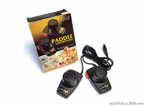 Atari Paddle Controllers CX 30-04 Retail Box