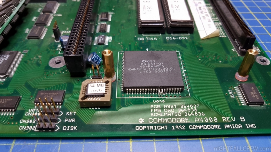 Commodore Amiga 4000 - 64Mb Fast Memory Hack