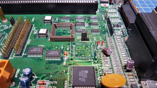 Commodore Amiga 4000 repair with Floppy Drive that is not recognized