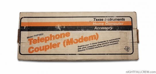 Telephone Coupler (Modem) PHP1600 (Boxed)