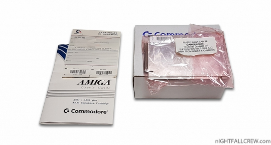 Commodore Amiga A501+ (Boxed)