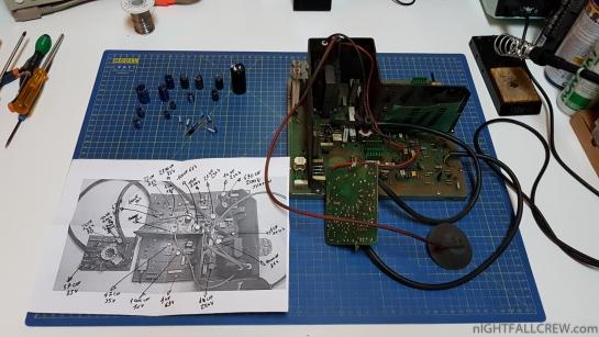 Hantarex PCB Coin-OP Monitor Full Recap