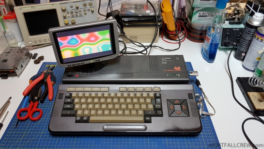 Philips VG-8235 (MSX2) Upgrading & Fixing
