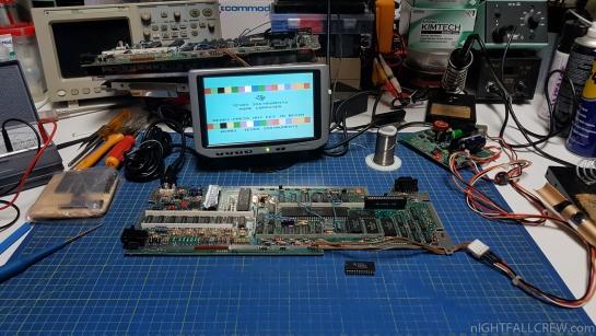 Texas Instruments TI-99-4A Repair