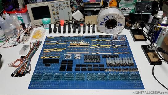 Ready to assembly the last batch of iNTY ZOE RGB v2.0