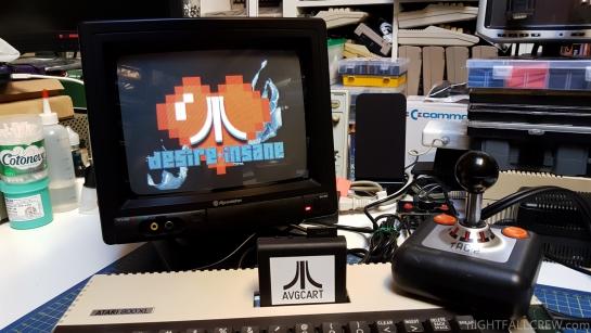 AVG Cartridge for 8bit Atari