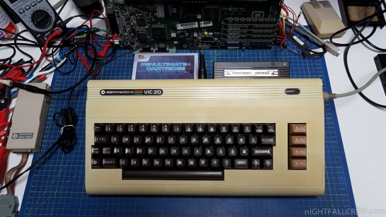 PenUltimate+ VIC-20 Cartridge with diagnostic DeadTest+ support