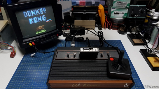 Atari 2600 PAL Composite Video Mod